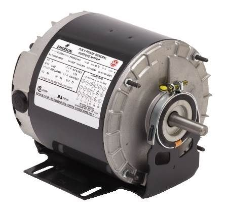 Three-Phase General Purpose, Energy Efficient Motor Open Dripproof, Resilient Base, 56 Frame