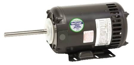 Varitough Commercial Fan Motor Inverter Duty, Three-Phase, ODP, 56 Frame