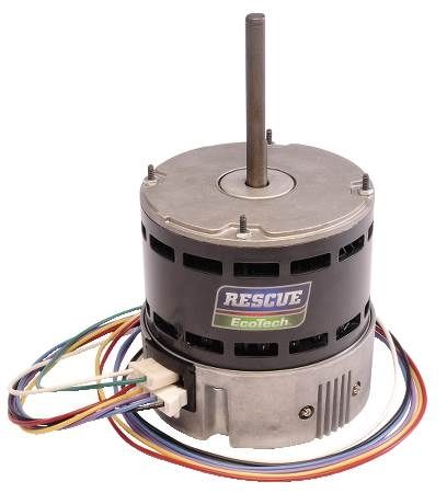 RESCUE EcoTech® Motor High Efficiency Direct-Drive Blower Motor