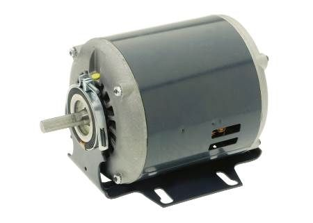 Belt Drive Fan Motor Sleeve bearing motor replacements for furnace blowers, belt driven fans, air coolers and similar applications with moderate torque requirements