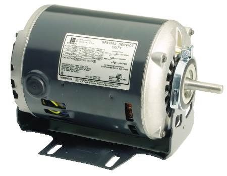 Wesco Furnace 2-Speed Blower Motor Split-Phase Motor