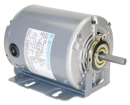 Single-Phase, Split-Phase Motor Dripproof, 1725 RPM, Rigid or Resilient Base