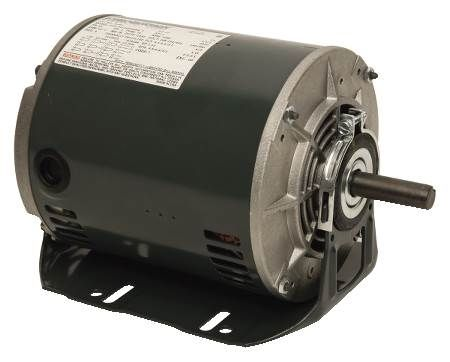 Three-Phase, 56 Frame Motor Dripproof, Resilient Base, Ball Bearing