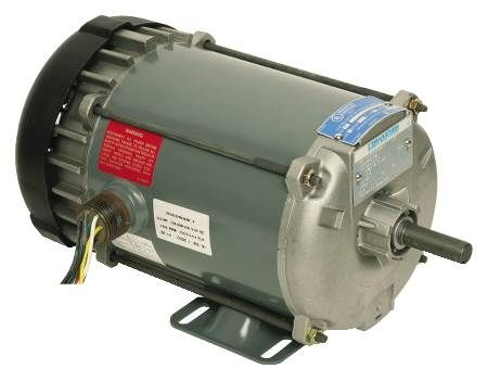 Hazardous Location 56 Frame Motors For Use in Hazardous Locations Class I Group D, Class II Group F and G Single-Phase Models