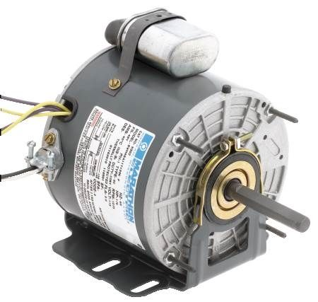 Unit Heater Motor 48 Frame Permanent Split Capacitor