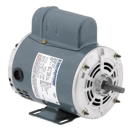 Capacitor Start General Purpose Motor Single-Phase, Dripproof, Rigid Base