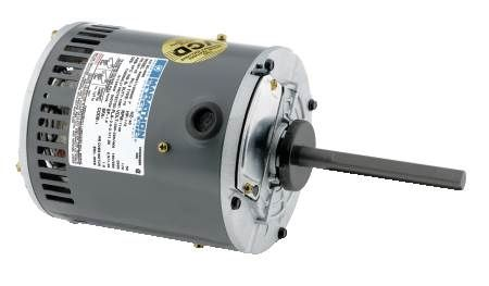 Three-Phase Condenser Fan Motor Direct Drive, 56 Frame, 1.0 Service Factor, Ball Bearing, Continuous Duty