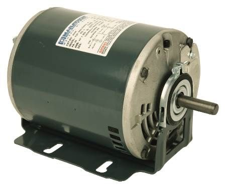 Whole House And Exhaust Fan Motor Belt Driven, Split-Phase, 115 Volts, 60 Hz, 1725 RPM