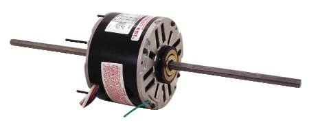 Double Shaft, 277 Volt Motors Permanent Split Capacitor