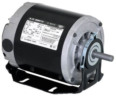 Belt Drive Fan Motors For Belt Driven Fan and Furnace Blowers, Single-Speed