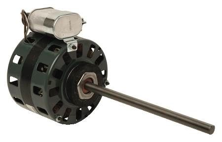 PSC 4-Speed Single Shaft Fan Coil Motor For McQuay, Trane and Other Single Shaft Fan Coil Units