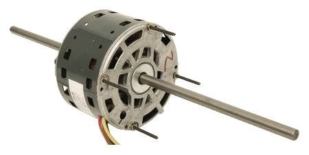 GE 39 NEMA 48 Frame PSC Motor Double Shaft for Shaft Mounted Fans and Blowers