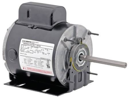 Single-Speed Motor For Unit Heaters, Direct Drive Blowers And Fans