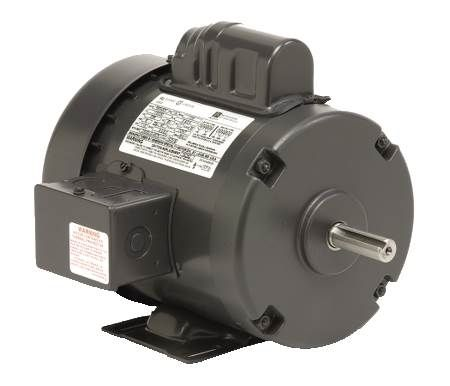Rigid Base, Capacitor Start, TEFC General Purpose Motor Single-Phase, 1140 RPM, 56 Frame