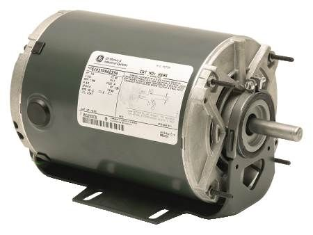 Single-Phase, Split-Phase Motor Dripproof, Single-Speed or Two-Speed