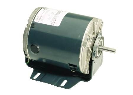 Single-Phase, Split-Phase Fan and Blower Motor Dripproof, Single-Speed