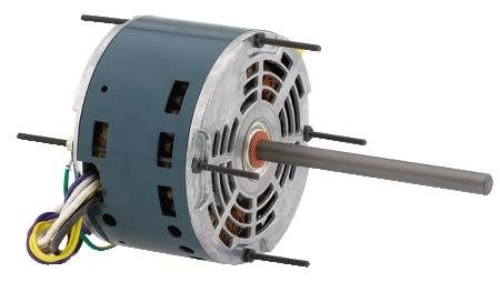 Open Ventilated Condenser Fan Motor