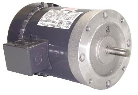 Three-Phase Belted Fan and Blower Motor Open Dripproof, Resilient Base