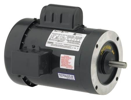 Capacitor Start General Purpose Motor Single-Phase, 56 C-Frame Reversible Rotation
