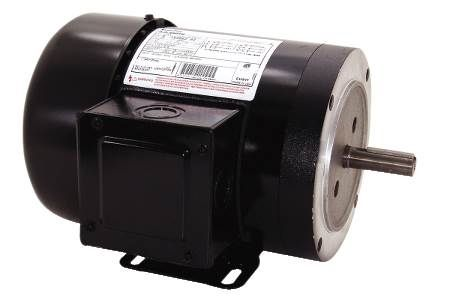 Quad Plus™  56C Frame Three-Phase General Purpose Motors Totally Enclosed Fan Cooled, Removeable Base