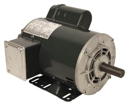 Capacitor Start T-Frame Motors Single-Phase, Dripproof, Rigid Base, Ball Bearing