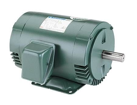 Three-Phase, High Efficiency Motor Dripproof, Rigid Base, 208-230/460 Volts, 1800 RPM