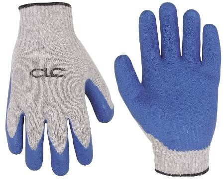 Rubberized Knit Gloves