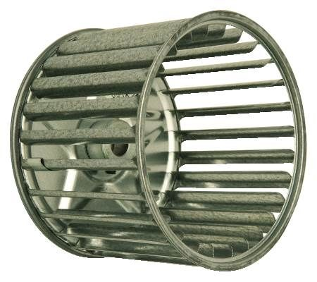 Single Inlet Blower Wheel For Room Air Conditioners, Power Burners, Draft Boosters, Other Heating and Appliance Devices