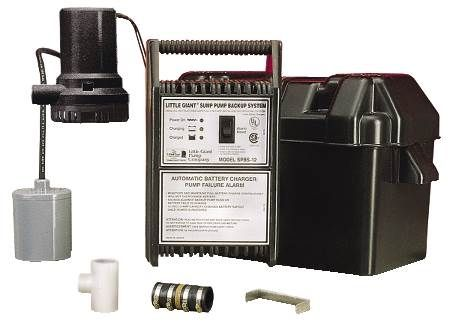 Back-up Sump Pump System