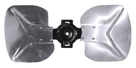 "OEM Replacement Fixed Hub Blade 2-Wing Blades with 1/2"" Hub"