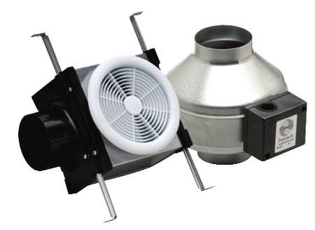 Premium Bath Fans - Remote Mount - Single Grille - 110 CFM