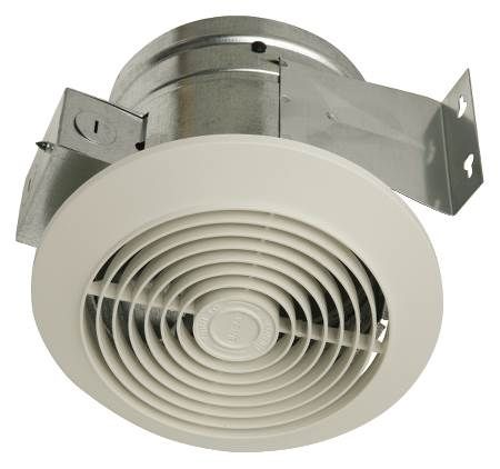 Economy 60 CFM Vertical Ceiling Fan For Bathrooms Up to 55 Sq. Ft.