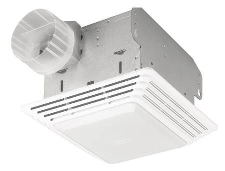 50 CFM Exhaust Fan and Light Fixture