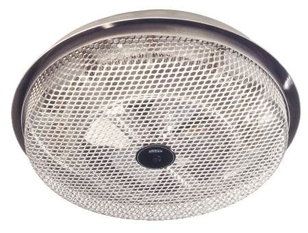 Fan Forced Ceiling Heater 1250 Watts, Easily Replaces Light Fixture