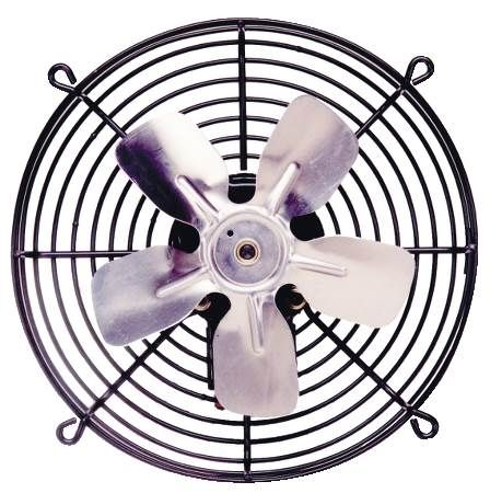 "12"" Direct Drive - Guard Mounted Axial Fans - 820 CFM"