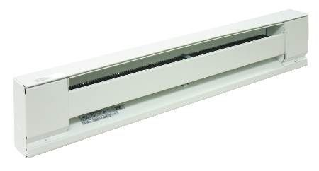 Raywall Baseboard Heater Stainless Steel Element Rod and Aluminum Fins