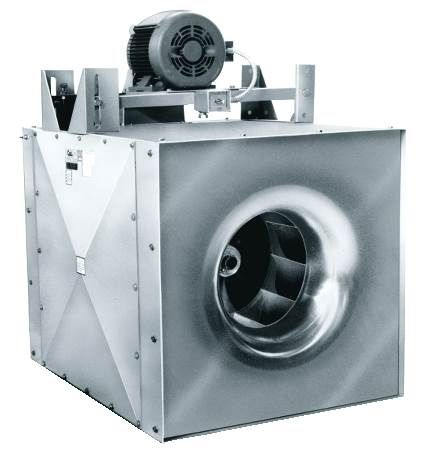 Square Inline Centrifugal Belt Drive Fan