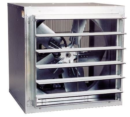 "Wall Mount Cabinet Exhaust Fans - 30"" - 9,535 CFM"