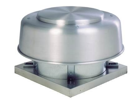 "Direct Drive Axial Exhaust Roof Fan - 10"" - 547 CFM @ 0.0 SP"