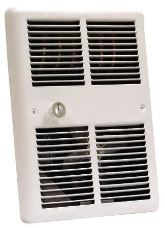 Mid-Size Fan Forced Wall Heater with Back Can