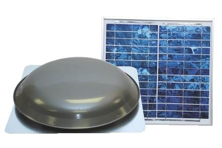 Solar Powered Attic Ventilator