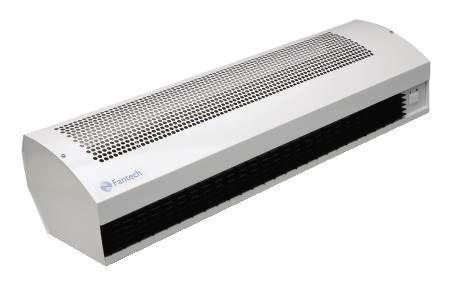 Air Curtains for light commercial applications