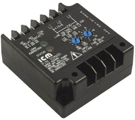 Single-Phase Line Voltage Monitor