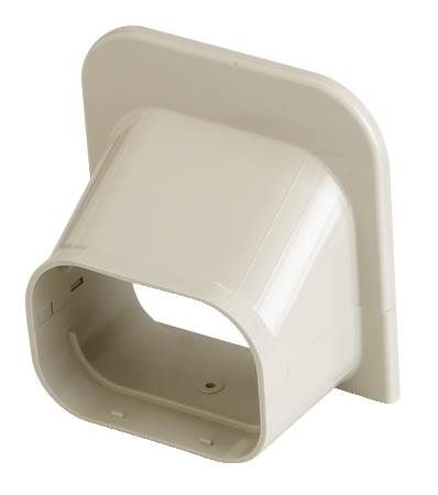 SlimDuct Ivory Soffit Inlet
