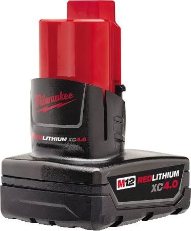 M12 REDLITHIUM™ XC 4.0 Extended Capacity Battery Pack