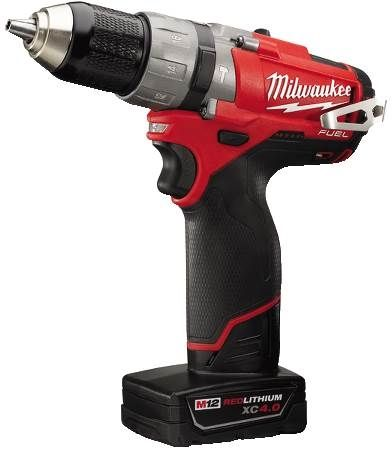 "M12 FUEL™ Lithium-Ion 1/2"" Cordless Hammer Drill/Driver Kit"