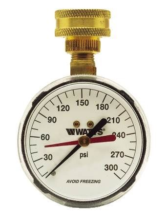 Pressure Gauge & Temperature Gauge