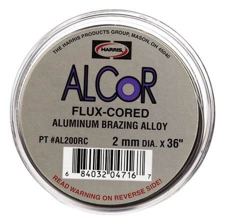 Alcor Fluxed Aluminum Alloy