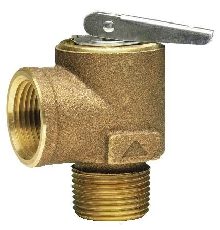 "3/4"" x 3/4"" Bronze Steam Safety Relief Valve"