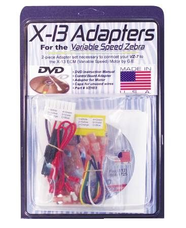 X-13 Evergreen Motor Adapter Set